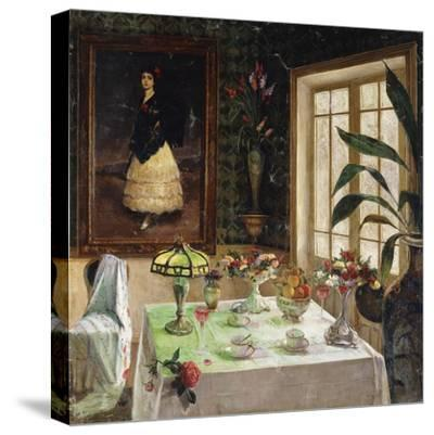A Spanish Interior-Corral Jose-Stretched Canvas Print
