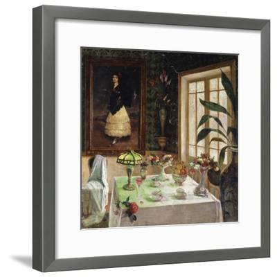 A Spanish Interior-Corral Jose-Framed Giclee Print