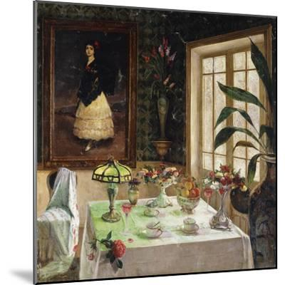 A Spanish Interior-Corral Jose-Mounted Giclee Print