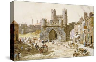 Walgate Bar, York-Louise Rayner-Stretched Canvas Print