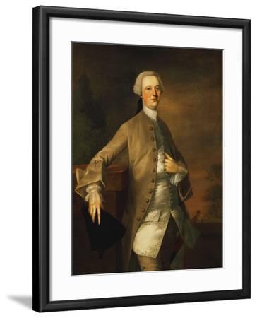 Portrait of David Garrick-Thomas Gainsborough-Framed Giclee Print