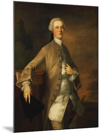 Portrait of David Garrick-Thomas Gainsborough-Mounted Giclee Print