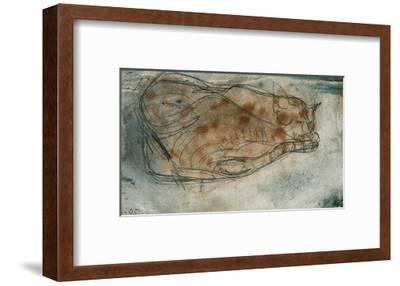 Sleeping Cat-Paul Klee-Framed Giclee Print