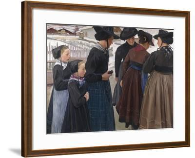 On the Way to Church, 1904-Ernest Bieler-Framed Giclee Print