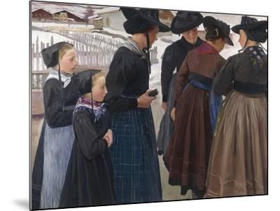 On the Way to Church, 1904-Ernest Bieler-Mounted Giclee Print