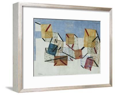 Berths-Paul Klee-Framed Giclee Print