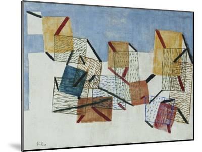 Berths-Paul Klee-Mounted Giclee Print