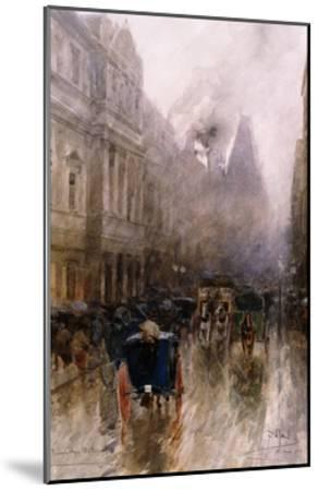 Piccadilly, London-Paolo Sala-Mounted Giclee Print