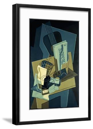 Music Book-Juan Gris-Framed Giclee Print