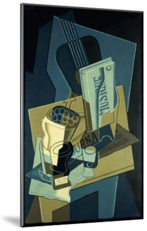 Music Book-Juan Gris-Mounted Giclee Print