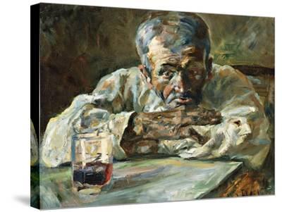The Alcoholic, Father Mathias-Henri de Toulouse-Lautrec-Stretched Canvas Print