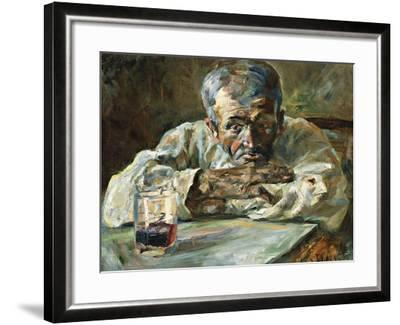 The Alcoholic, Father Mathias-Henri de Toulouse-Lautrec-Framed Giclee Print