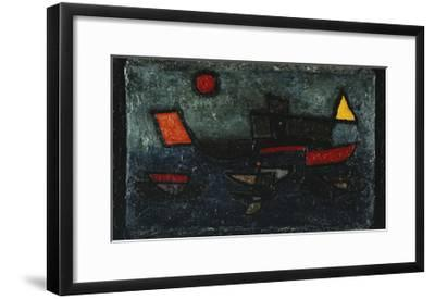 Departing Steamer-Paul Klee-Framed Giclee Print