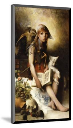 The Witch's Daughter-Carl		 Larsson-Mounted Premium Giclee Print