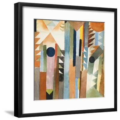 The Forest that Grew from the Seed-Paul Klee-Framed Premium Giclee Print