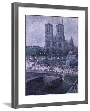 Notre Dame-Maximilien Luce-Framed Giclee Print