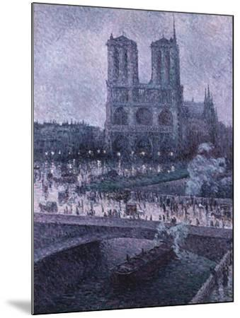 Notre Dame-Maximilien Luce-Mounted Giclee Print