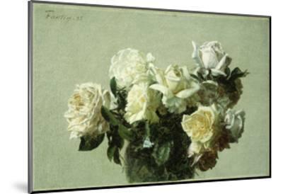 Roses-Henri Fantin-Latour-Mounted Giclee Print