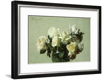 Roses-Henri Fantin-Latour-Framed Giclee Print
