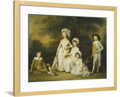 The Mordaunt Family-Lewis Vaslet-Framed Giclee Print