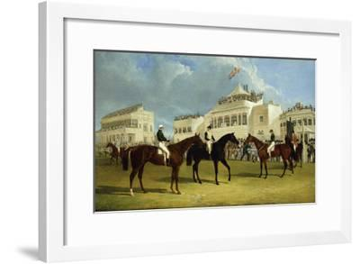 Preparing to Start for the Emperor of Russia's Cup at Ascot, 1845-John Frederick Herring I-Framed Giclee Print
