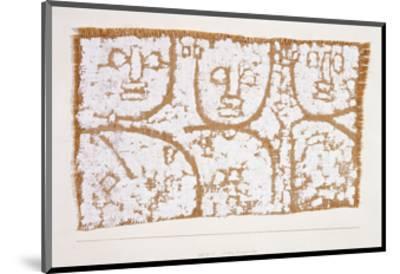 Three Figures-Paul Klee-Mounted Premium Giclee Print