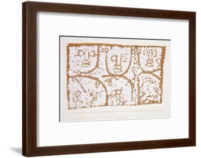 Three Figures-Paul Klee-Framed Giclee Print