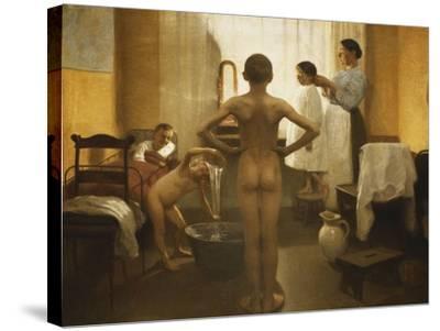 Bath Time-Carl Vilhelm Meyer-Stretched Canvas Print