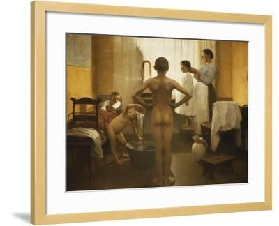 Bath Time-Carl Vilhelm Meyer-Framed Giclee Print