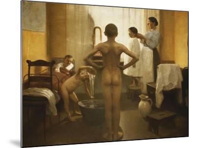 Bath Time-Carl Vilhelm Meyer-Mounted Giclee Print