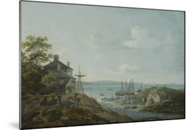 Loading Slate at Bangor Ferry-John Laporte-Mounted Giclee Print