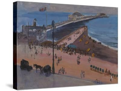 Brighton from the Royal Albion-Sir John Lavery-Stretched Canvas Print