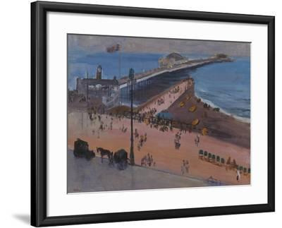 Brighton from the Royal Albion-Sir John Lavery-Framed Giclee Print