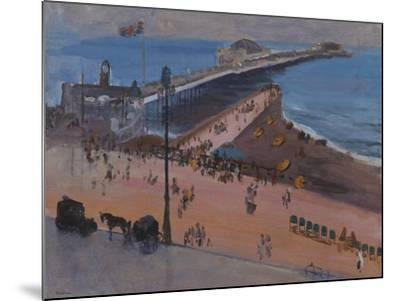 Brighton from the Royal Albion-Sir John Lavery-Mounted Giclee Print