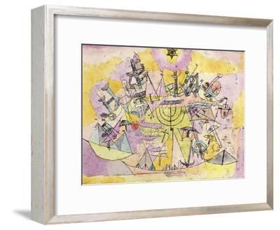 The Unlucky Ships-Paul Klee-Framed Giclee Print