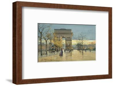 Arc de Triumphe-Eugene Galien-Laloue-Framed Premium Giclee Print