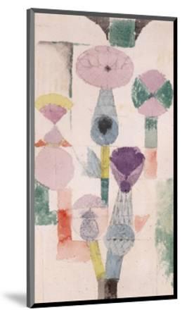 Thistle Bloom-Paul Klee-Mounted Giclee Print