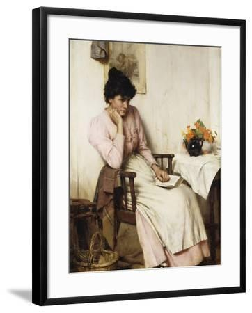 Distant Thoughts-Walter		 Langley-Framed Giclee Print