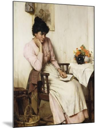 Distant Thoughts-Walter		 Langley-Mounted Giclee Print