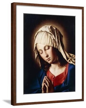 The Madonna in Prayer--Framed Giclee Print