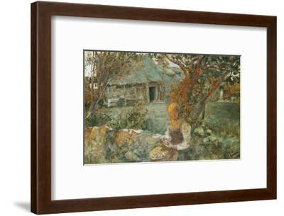 The Last Rays-Carl		 Larsson-Framed Giclee Print
