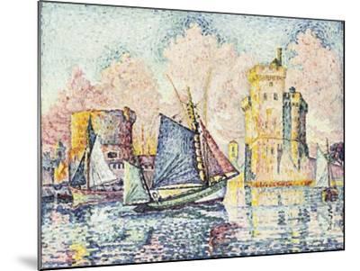 Tuna Boat Entering the Port of La Rochelle-Paul Signac-Mounted Giclee Print