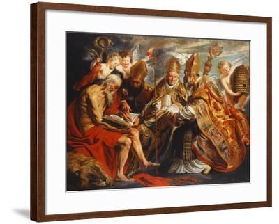 The Four Doctors of the Church Giclee Print by Jacob Jordaens | Art com