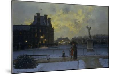 The Evening Promenade-Marcel Lebrun-Mounted Giclee Print