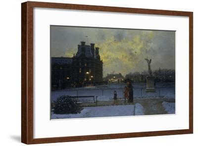 The Evening Promenade-Marcel Lebrun-Framed Giclee Print
