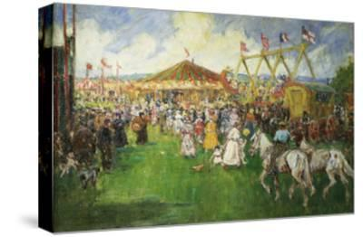 The Country Fair-Cecil Gordon Lawson-Stretched Canvas Print