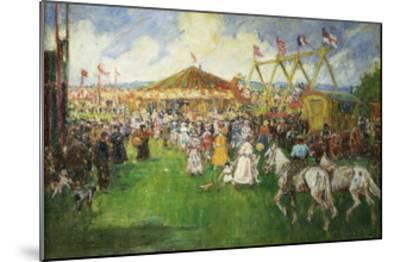 The Country Fair-Cecil Gordon Lawson-Mounted Giclee Print