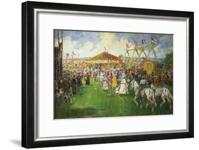 The Country Fair-Cecil Gordon Lawson-Framed Giclee Print