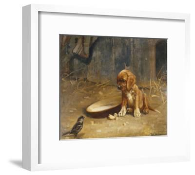 The Uninvited Guest-Karl Kristian Uchermann-Framed Giclee Print