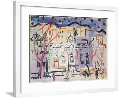 Street Scene, South of France-Christopher Wood-Framed Giclee Print